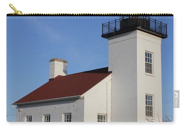Sand Point Lighthouse Escanaba Carry-all Pouch