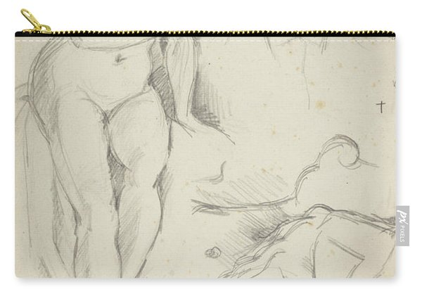 Studies Of Three Figures Including A Self-portrait  Carry-all Pouch