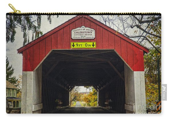 Uhlerstown Covered Bridge Iv Carry-all Pouch
