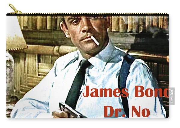 007, James Bond, Sean Connery, Dr No Carry-all Pouch