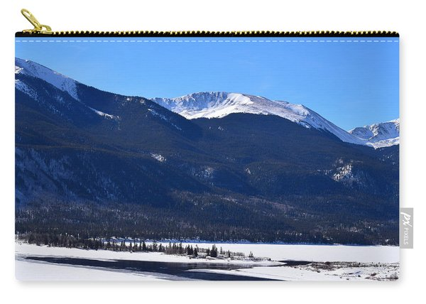 Carry-all Pouch featuring the photograph Twin Lakes Leadville Co by Margarethe Binkley