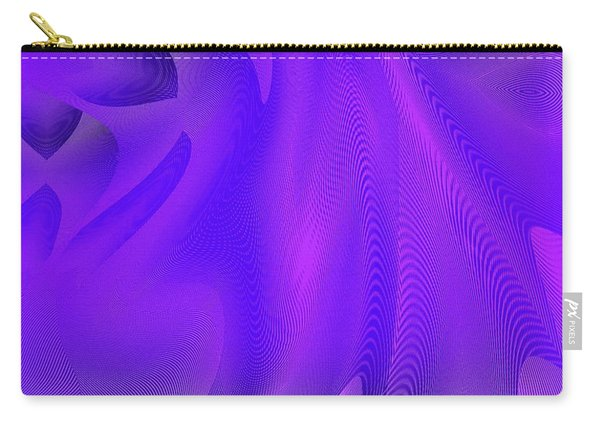 Carry-all Pouch featuring the digital art #011620174 by Visual Artist Frank Bonilla