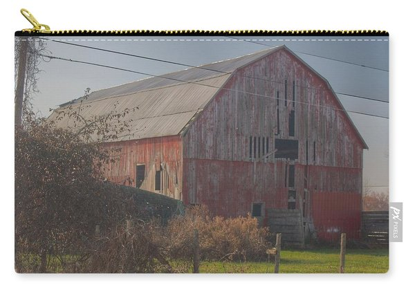 0153 - Dodge Road Red I Carry-all Pouch