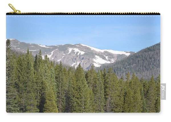 Carry-all Pouch featuring the photograph Chambers Lake Hwy 14 Co by Margarethe Binkley
