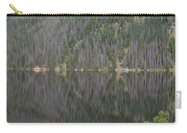 Carry-all Pouch featuring the photograph Chambers Lake Reflection Hwy 14 Co by Margarethe Binkley