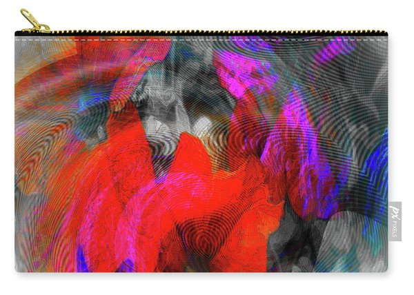 Carry-all Pouch featuring the digital art #062320172 by Visual Artist Frank Bonilla