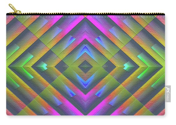 Carry-all Pouch featuring the digital art 071202174 by Visual Artist Frank Bonilla