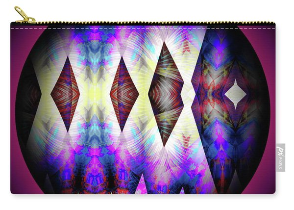Carry-all Pouch featuring the digital art 080620172 by Visual Artist Frank Bonilla