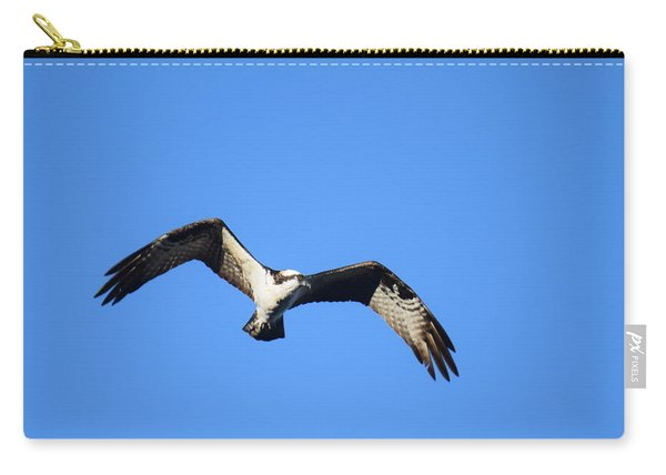 Carry-all Pouch featuring the photograph Osprey Burgess Res Divide Co by Margarethe Binkley