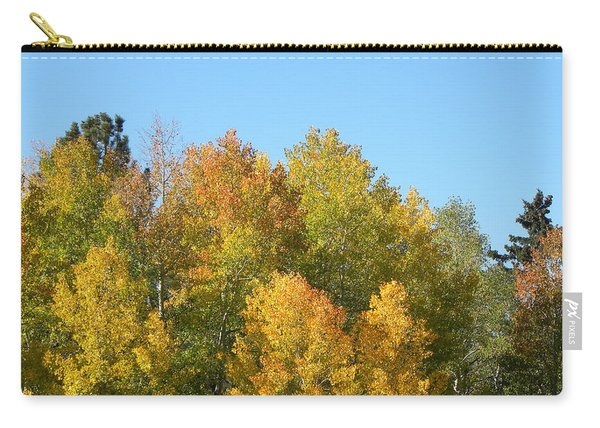 Carry-all Pouch featuring the photograph Fall In Divide Co by Margarethe Binkley
