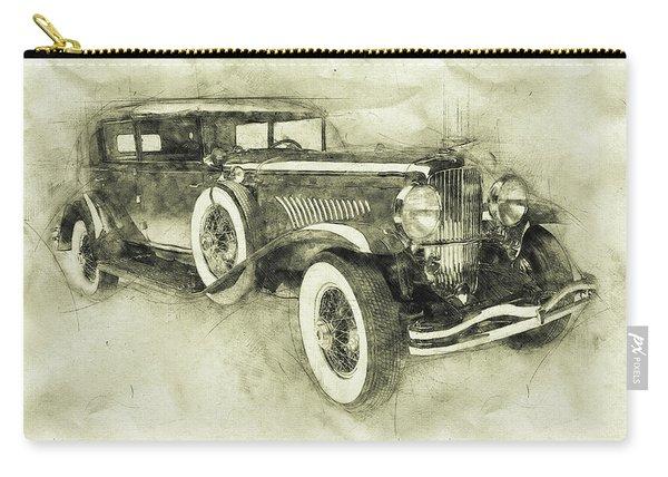 1928 Duesenberg Model J 3 - Automotive Art - Car Posters Carry-all Pouch