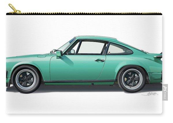 1976 Porsche Euro Carrera 2.7 Illustration Carry-all Pouch