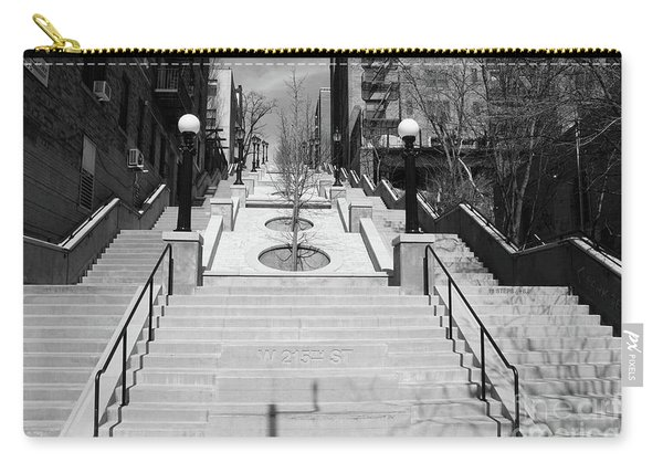 215th Street Stairs Carry-all Pouch