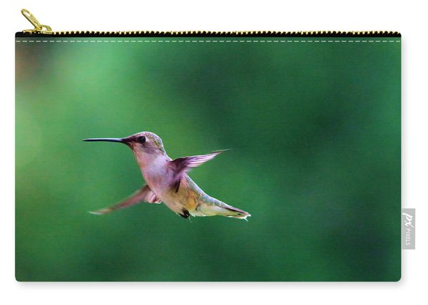 A Little Hummer Carry-all Pouch