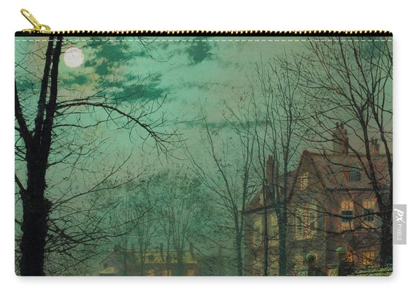 A Moonlit Road Carry-all Pouch
