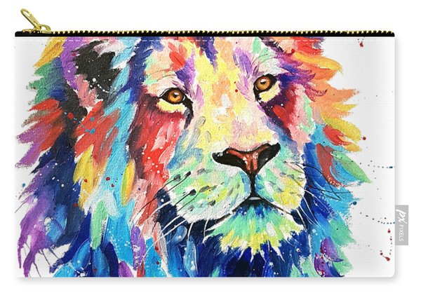 A World Of Color Carry-all Pouch