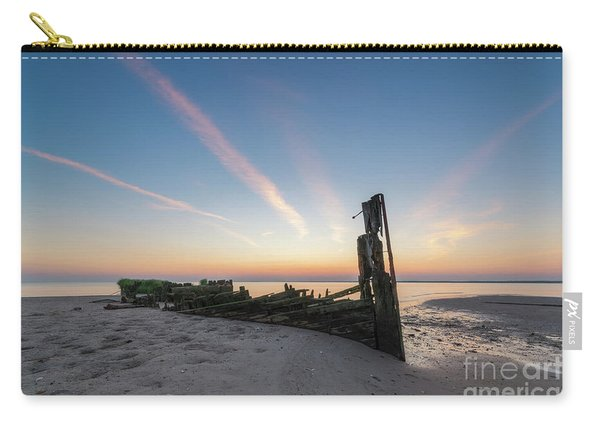 Abandoned Boat Sunset  Carry-all Pouch