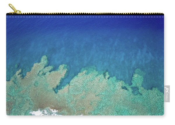 Abstract Aerial Reef Carry-all Pouch