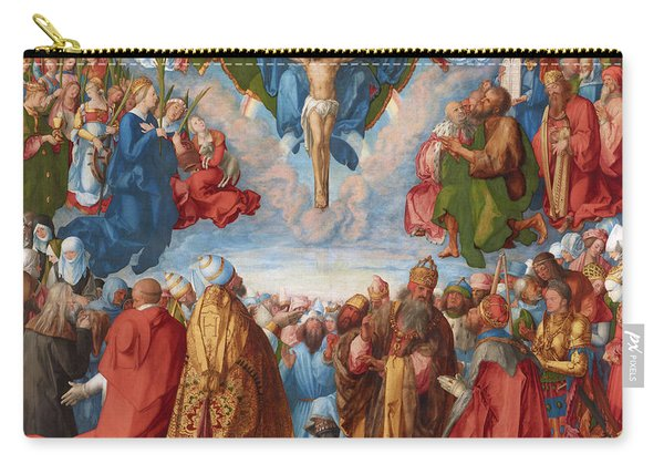 Adoration Of The Trinity  Carry-all Pouch