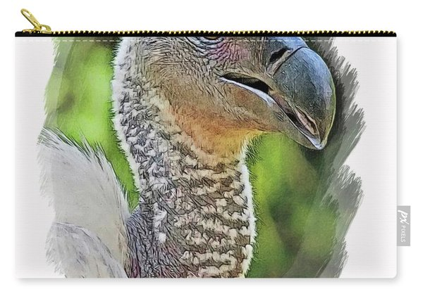 African Griffon Vulture Carry-all Pouch