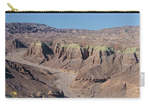 Carry-all Pouch featuring the photograph Afton Canyon by Jim Thompson