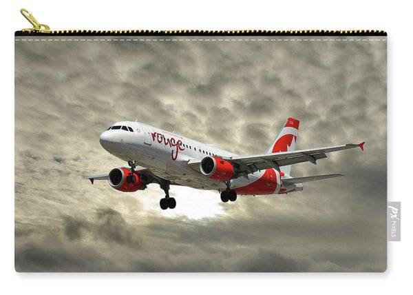 Air Canada Rouge Airbus A319 Carry-all Pouch