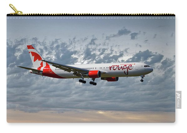 Air Canada Rouge Boeing 767-35h Carry-all Pouch