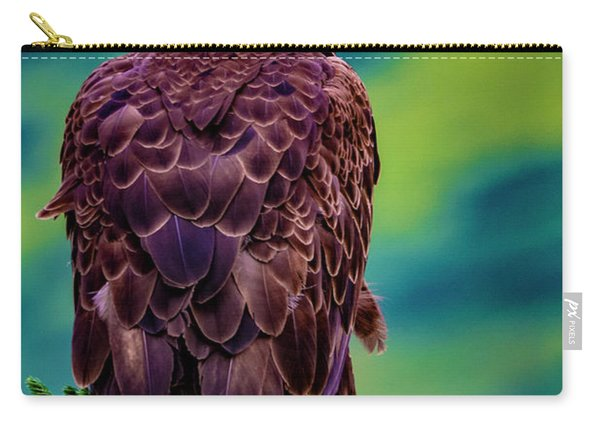 Alaska Bald Eagle Carry-all Pouch