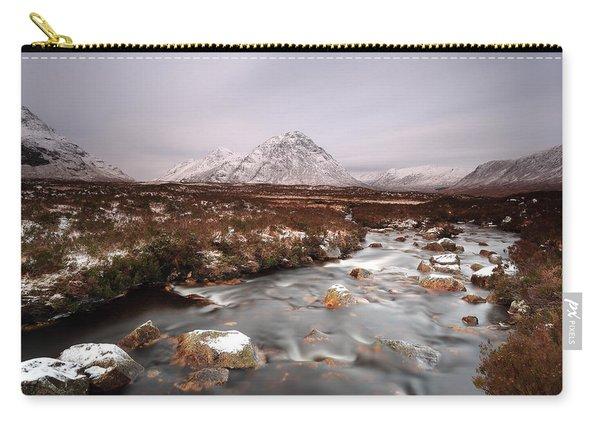 Allt Nan Giubhas And The Peak Of Stob Dearg Carry-all Pouch