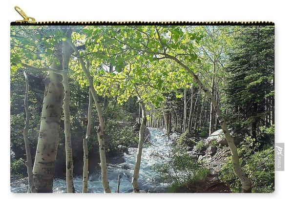 Along Alberta Falls Trail Rocky Mountain National Park Carry-all Pouch