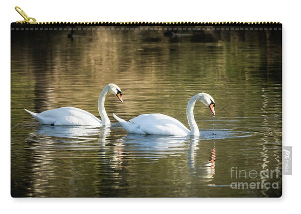 Always Together Wildlife Art By Kaylyn Franks Carry-all Pouch