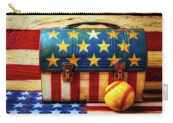American Baseball Carry-all Pouch