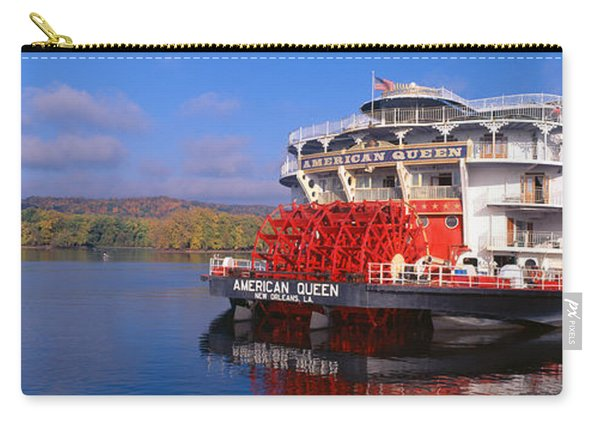 American Queen Paddlewheel Ship Carry-all Pouch
