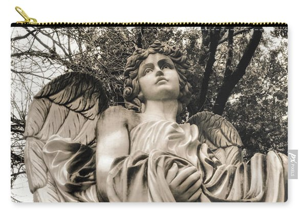 Angel In The Fall Carry-all Pouch