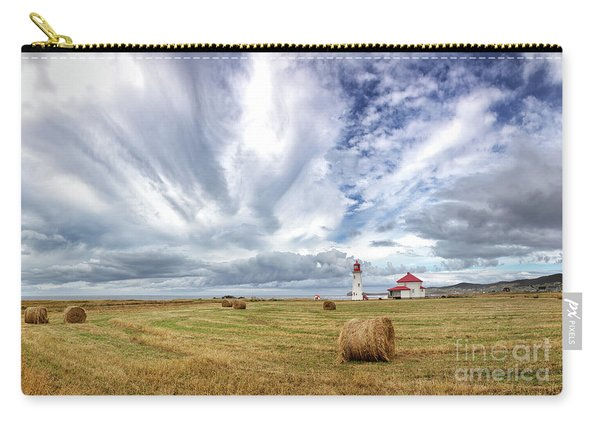 Anse A La Cabane Lighthouse On The Magdalen Islands Carry-all Pouch