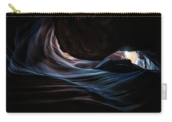 Antelope Canyon Blue Carry-all Pouch