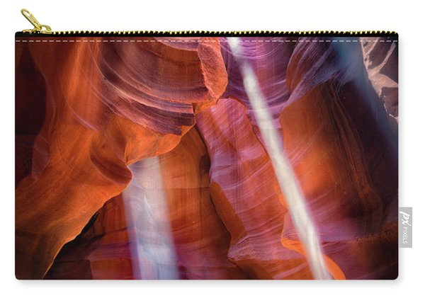 Antelope Canyon's Many Beams Carry-all Pouch