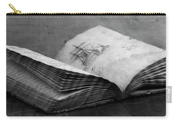 Antique Notebook Carry-all Pouch