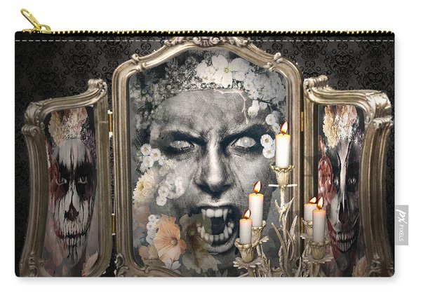 Antique Vampire Paintings Carry-all Pouch