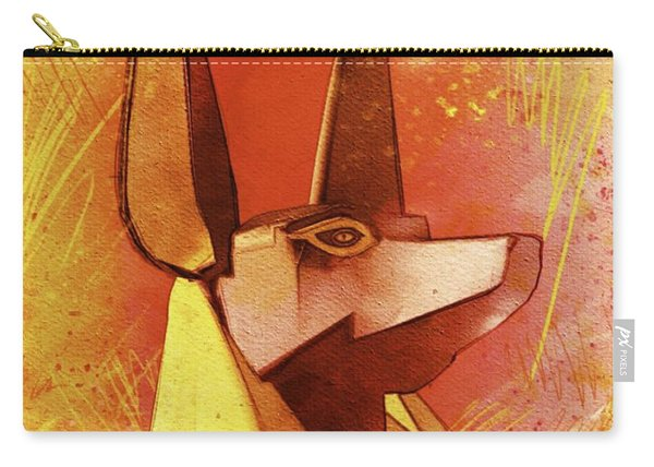 Anubis - Jackal God Of Ancient Egypt Carry-all Pouch