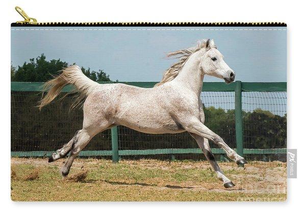 Arabian Horse Running Carry-all Pouch