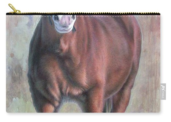 Arthur The Belgian Horse Carry-all Pouch