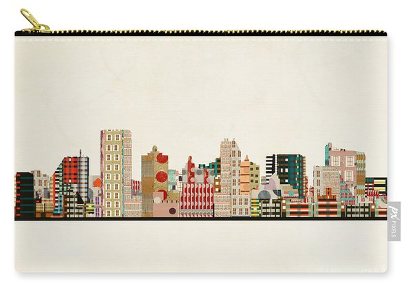 Atlantic City Skyline Carry-all Pouch