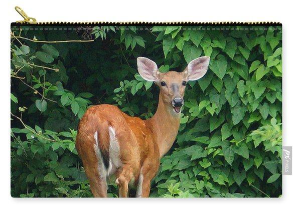 Backyard Deer Carry-all Pouch