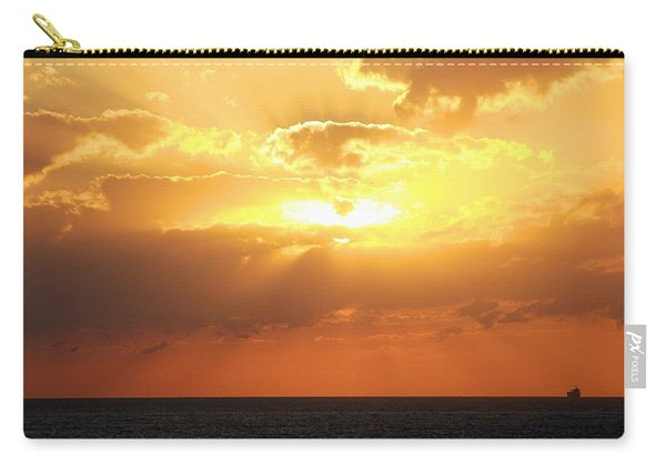 Bahamas Sunset Carry-all Pouch