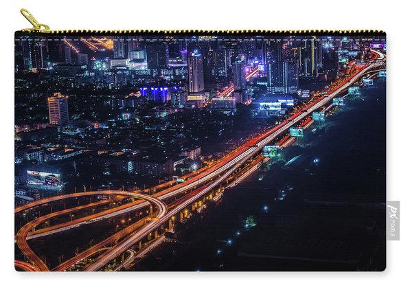 Bangkok Cityscape Carry-all Pouch