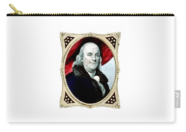 Ben Franklin - Two Carry-all Pouch