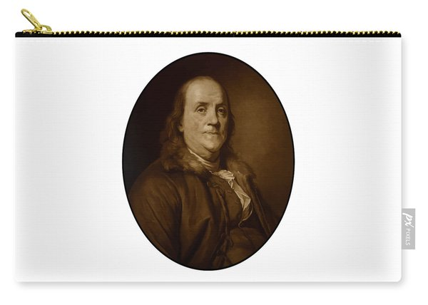 Benjamin Franklin - Three Carry-all Pouch
