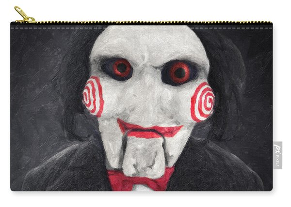Billy The Puppet Carry-all Pouch