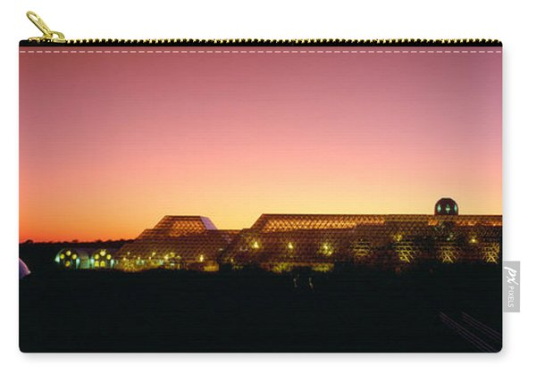 Biosphere 2 At Sunset, Arizona Carry-all Pouch